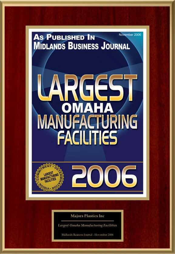 Largest Omaha Manufacturing Facilities