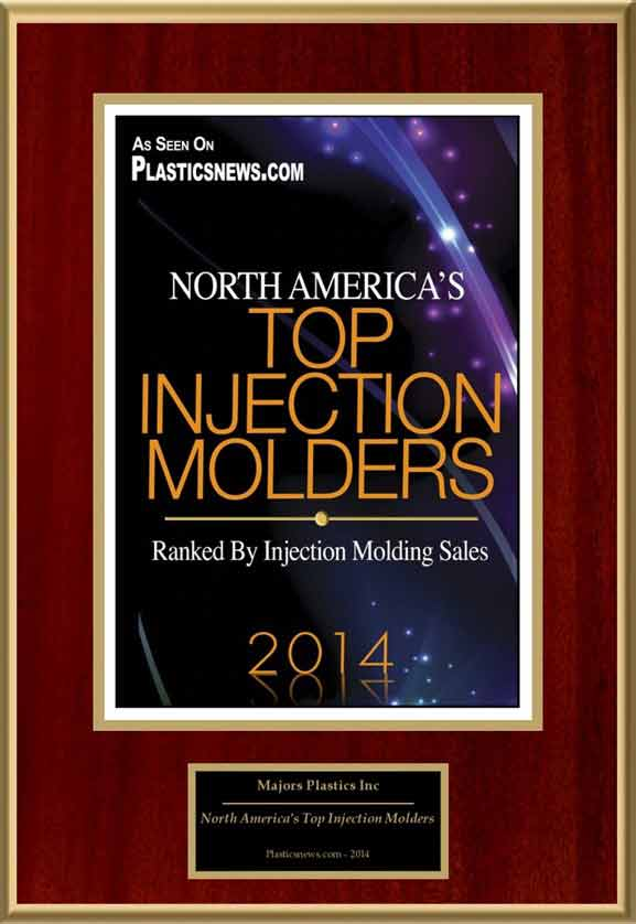 Top Injection Molders Award