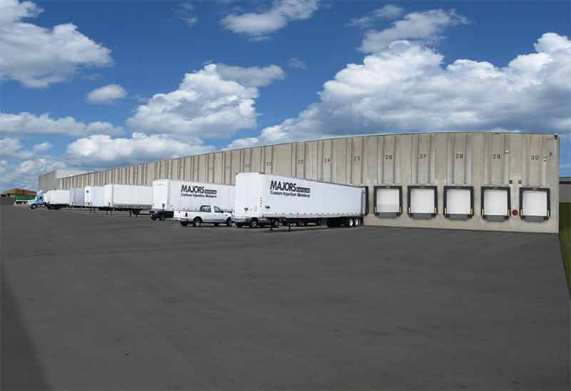 Majors Plastics Inc Warehouse and Shipping