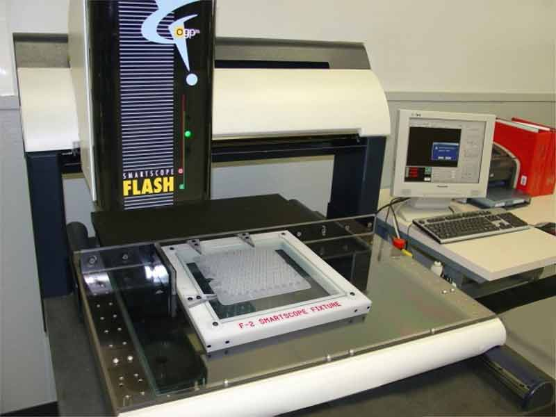 Injection Molding Flash 500 Smartscope Testing