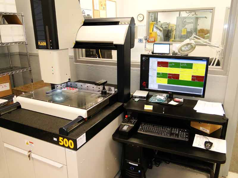 Injection Molding Smartscope Optical testing
